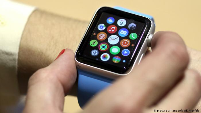 Apple Watch, Copyright: picture-alliance/dpa/K.Nietfeld
