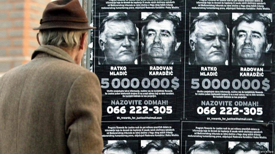 Former Bosnian Serb leader Karadzic found guilty of genocide, sentenced to 40 years | News | DW | 24.03.2016