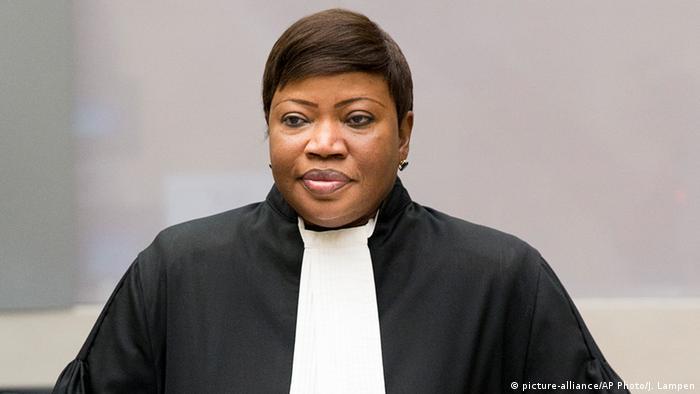 Niederlande Den Haag Gerichtsvollzieherin Fatou Bensouda beim Fall Jean-Pierre Bemba (picture-alliance/AP Photo/J. Lampen)