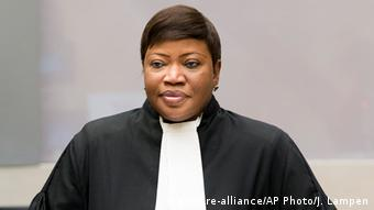 Fatou Bensouda (Quelle: picture-alliance/AP Photo/J. Lampen)