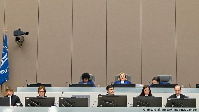 Niederlande Den Haag Internationaler Gerichtshof (picture-alliance/AP Images/J. Lampen)
