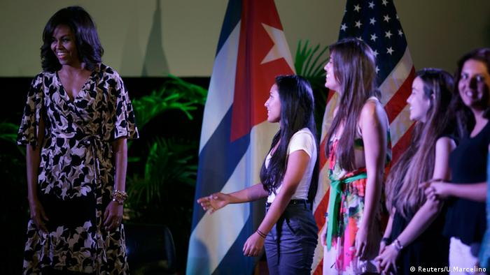 Michelle Obama USA Kuba Havana
