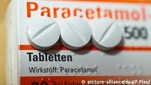 Paracetamol Tabletten gegen Schmerzen und Fieber