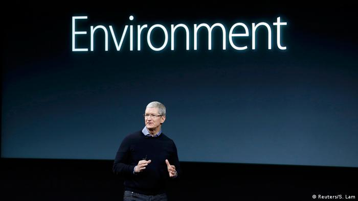 Tim Cook, Apple's CEO (Picture: REUTERS/Stephan Lam)
