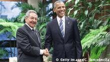Kuba Raul Castro und Barack Obama in Havanna