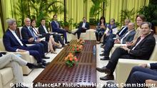 Kuba Außenminister John Kerry Friedensgespräche mit Kolumbien in Havanna