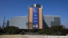 Brüssel Gebäude der Europäischen Kommission