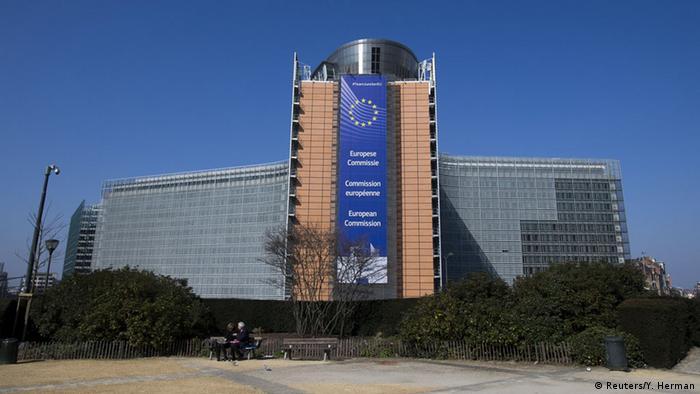 Brüssel Gebäude der Europäischen Kommission (Reuters/Y. Herman)