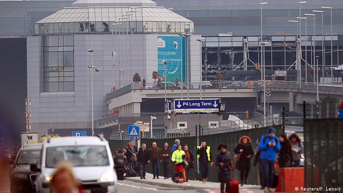 Belgien Brüssel Flughafen Zaventem Explosion