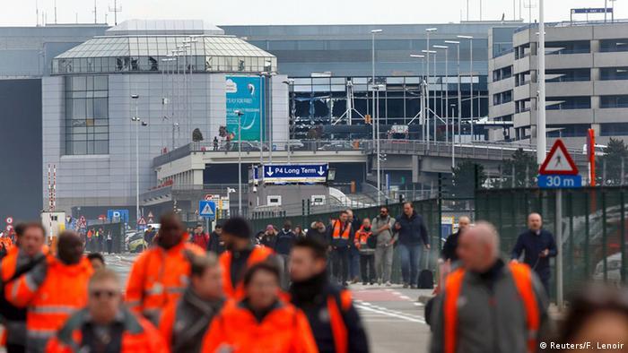 Belgien Brüssel Flughafen Zaventem Explosion Evakuierung
