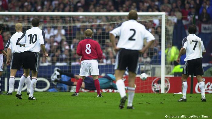 England - Germany at Old Wembley
