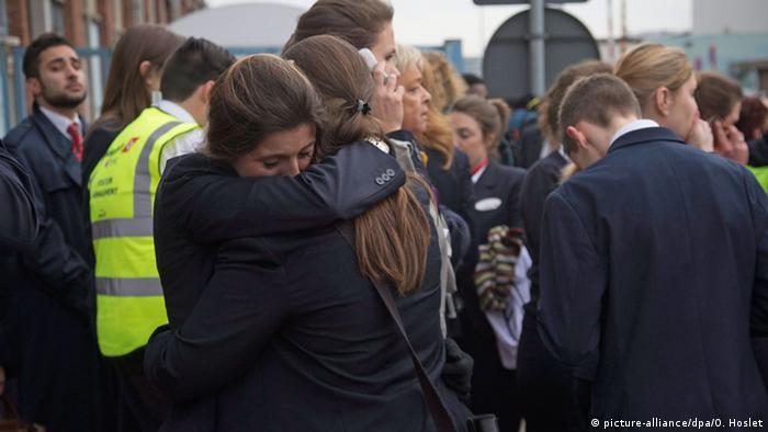 Belgien Brüssel Flughafen Zaventem Passagiere Evakuierung Trauer