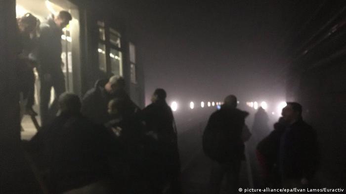 Belgien Brüssel Metro Explosion