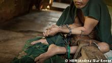 Indonesien Java Psychiatrie Patienten Fixierung