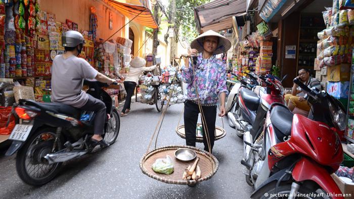 Vietnam Altstadt von Hanoi