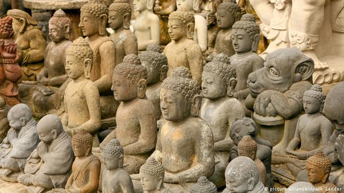 Bali Stein-Skulpturen in Ubud