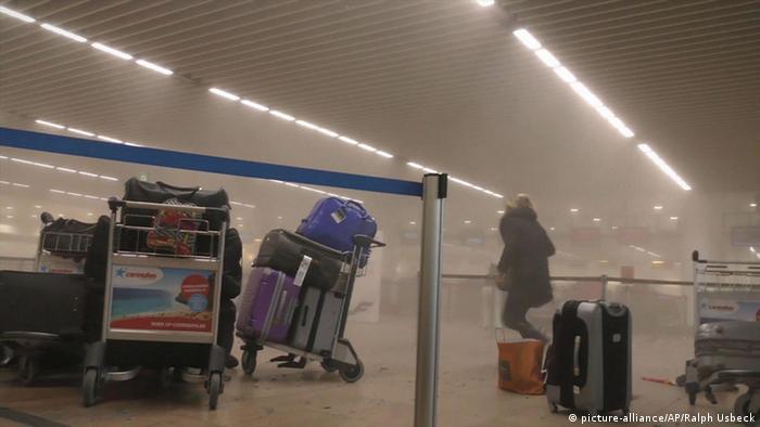 аэропорт Завентем после теракта
