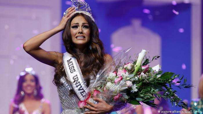 Puerto Rico Miss Universe Kristhielee Caride (picture-alliance/dpa/T. Lorca)