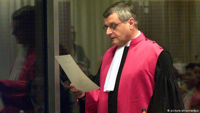 Jurist Wolfgang Schomburg