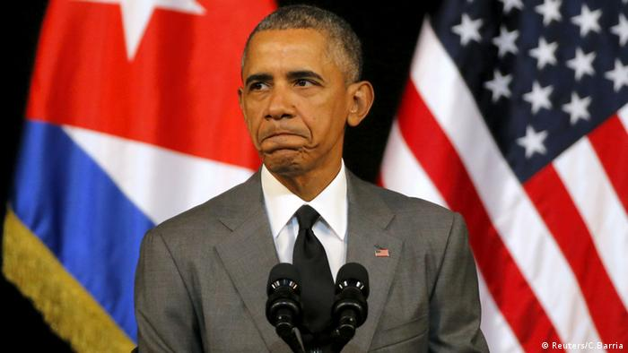 Barack Obama en el Gran Teatro de la Habana, Cuba.