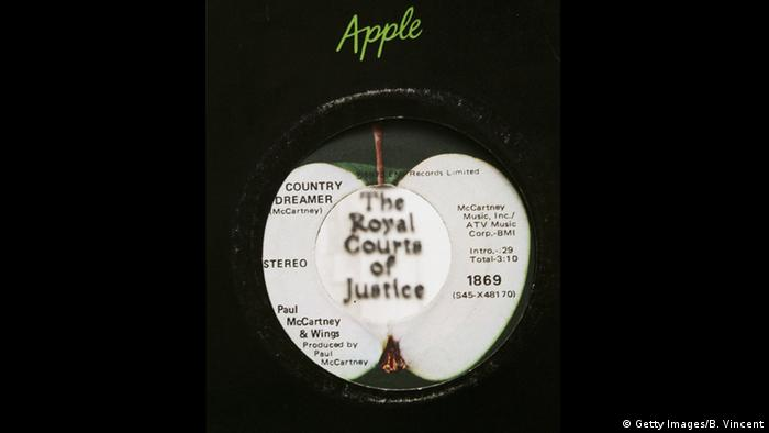 Logo von Apple Records (Foto: Getty Images/B. Vincent)
