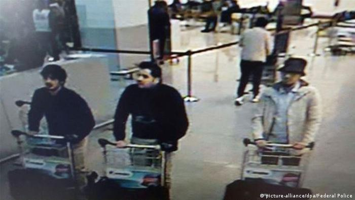 The men suspected of carrying out the bomb attack at Brussels' Zaventem airport
