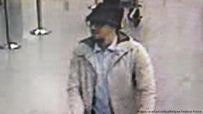 Belgien Brüssel Anschlag Terror Verdächtiger Videostill