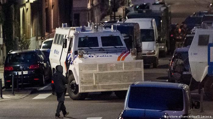 Спецоперация в брюссельском районе Схарбек