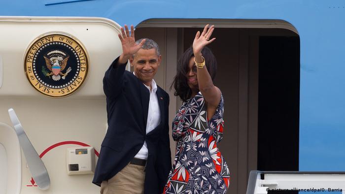 Kuba US Präsident Barack Obama Abreise