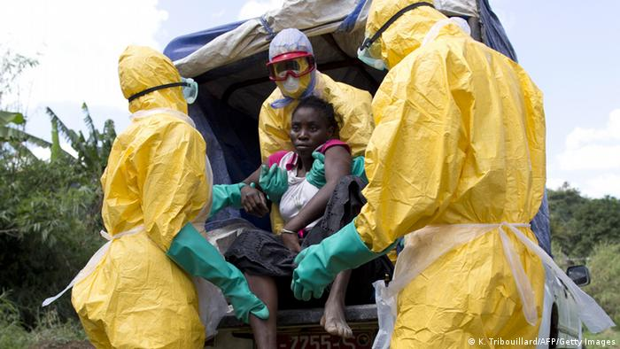 Guinea Ebola in Dubreka (K. Tribouillard/AFP/Getty Images)