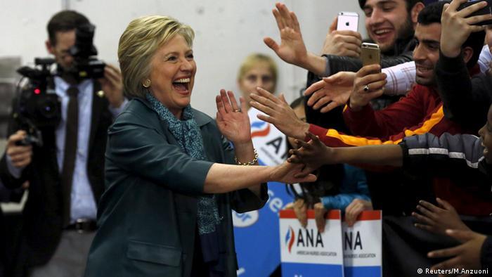 Hillary Clinton Rainier Beach High School Seattle USA
