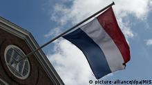 Flagge Niederlande Amsterdam