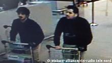 Belgien Terroranschläge in Brüssel Fahndung Verdächtige Brüder El Bakraoui