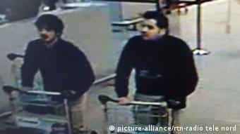 Kahlid and Ibrahim El Bakraoui, caught on Brussels airport CCTV on the morning of the attacks