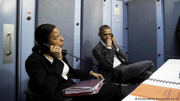 Obama und Rice in Havana