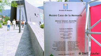 Haus der Erinnerung in Medellin (Foto: DW/T. Käufer)