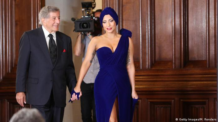 Lady Gaga und Tony Bennett (Foto: Getty Images/M. Renders)