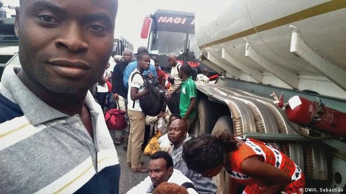Mosambik Angriff auf Bus (DW/A. Sebastião)