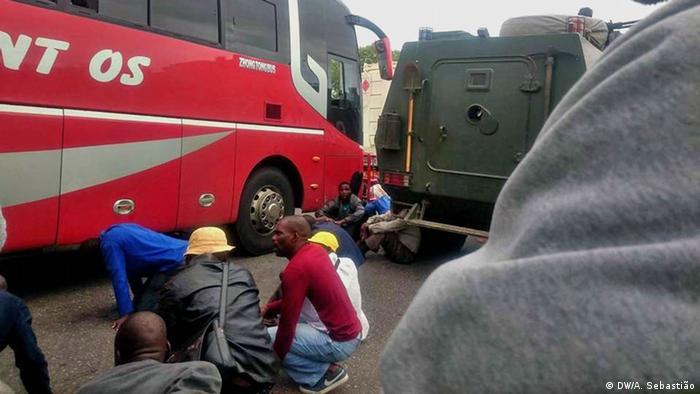 Mosambik Angriff auf Bus