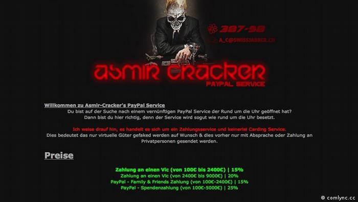 Stranica hakera Asmira M. iz Živinica