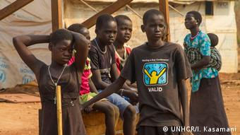 Uganda Flüchtlinge aus dem Südsudan