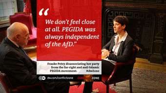 Frauke Petry bei Conflict Zone