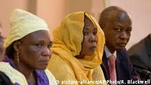 Senegal Dakar Younous Mahadjir (R) Oppostion Tschad
