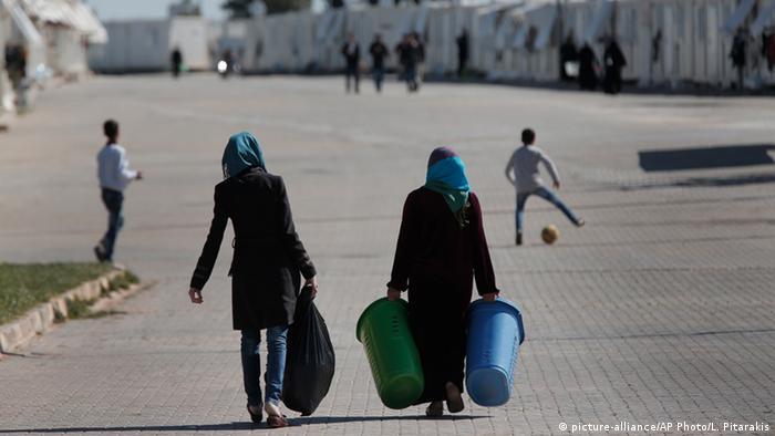 Türkei Flüchtlinge im Flüchtlingslager Oncupinar