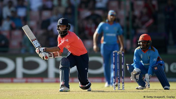 Cricket World T20 Afghanistan - England Moeen Ali