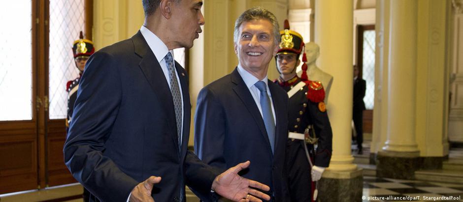 Obama é o primeiro presidente americano a visitar a Argentina em 11 anos