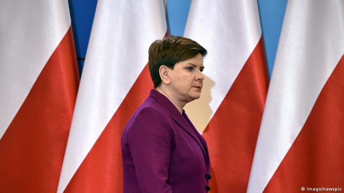 Polish Prime Minister Beata Szydlo