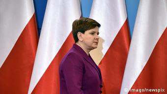 La primera ministra de Polonia, Beata Szydło.