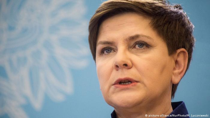 Polen Premierministerin Beata Szydlo (picture-alliance/NurPhoto/M. Luczniewski)