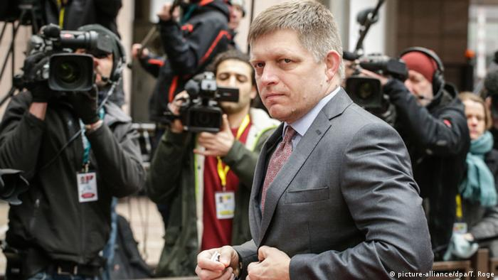Prime Minister Robert Fico campaigned on an anti-migrant platform